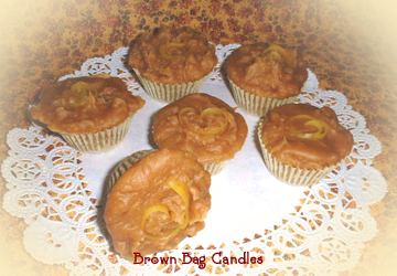 Tangy Lemon Pound Cake Mini-Muffin